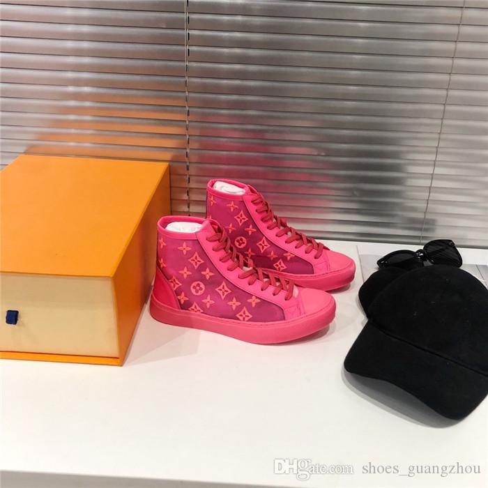 Çiftler floresan renk serisi, 2019 Web ünlü kutu 35-40 ile en serin en trendi ayakkabı, rahat nefes alabilen spor ayakkabıları yıldız