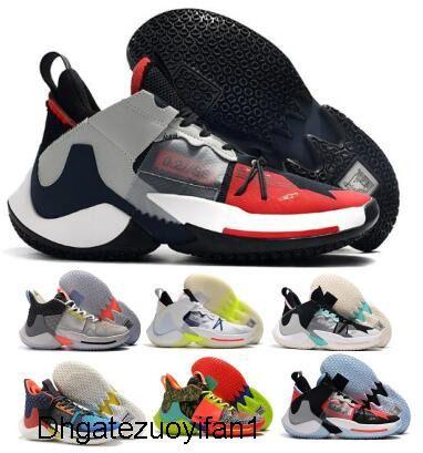 Pourquoi ne pas Russell Westbrook Chaussures de basket 0.2 SE Future History City Tour BHM possédez le jeu noir Jumpman hommes de sport Baskets Sneakers