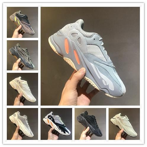 2019 v2 NOUVEAU Designer Chaussures de sport des femmes des hommes Chaussures de course 700 vague coureur kanye west des Zapatos Schuhe formateurs chaussures de sport taille 36-47