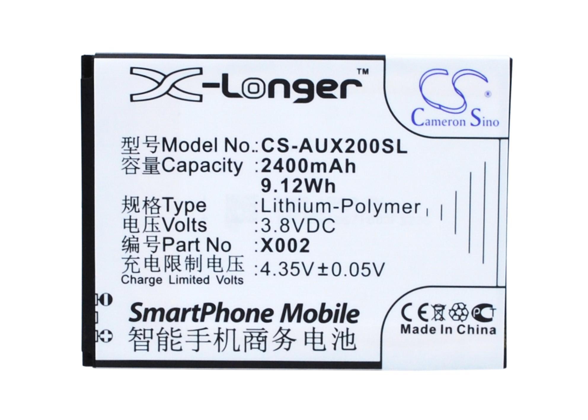 Cameron Sino High Quality Battery X002 for Asus Pegasus X002, Pegasus X003
