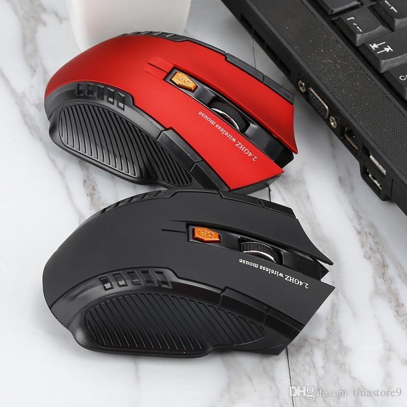 2.4 GHz беспроводная оптическая игровая мышь для Imac Pro Macbook PC портативный компьютер USB приемник мини портативная мышь мыши 2 цвета взрыв