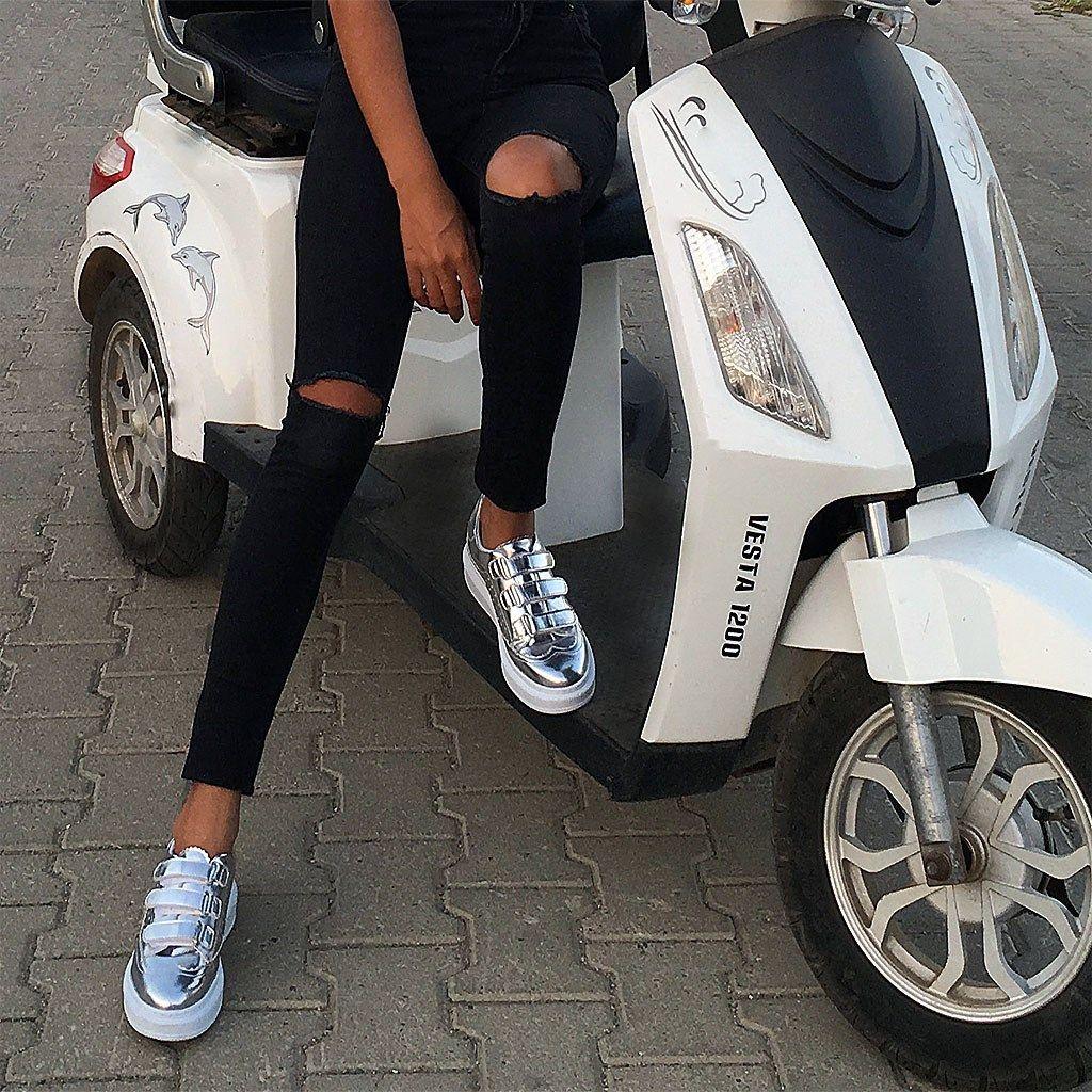 Moxee-Metallic Women 'S Shoes