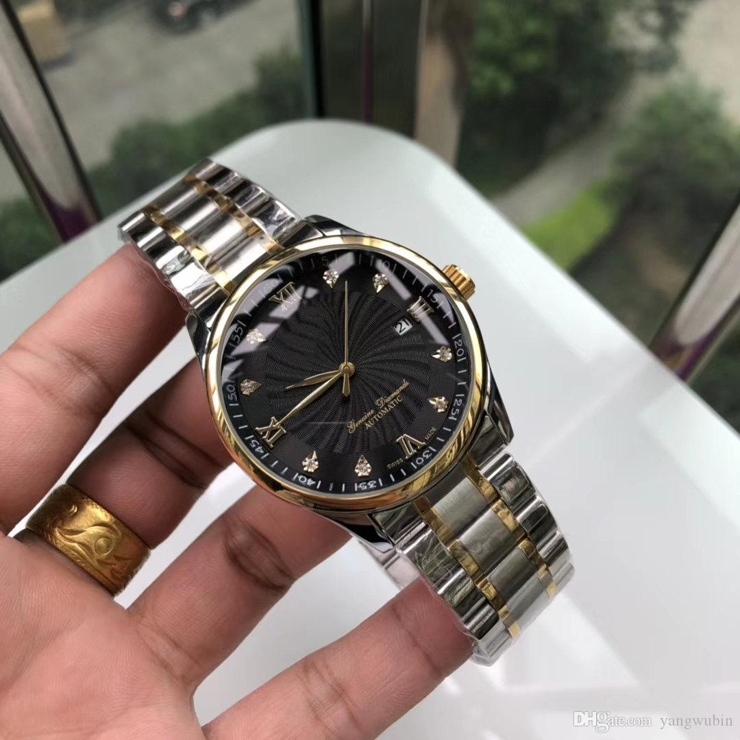 Popular men machinery AA3A sales champion classic business men watch,316 fine steel equipped with automatic imported mechanical movement