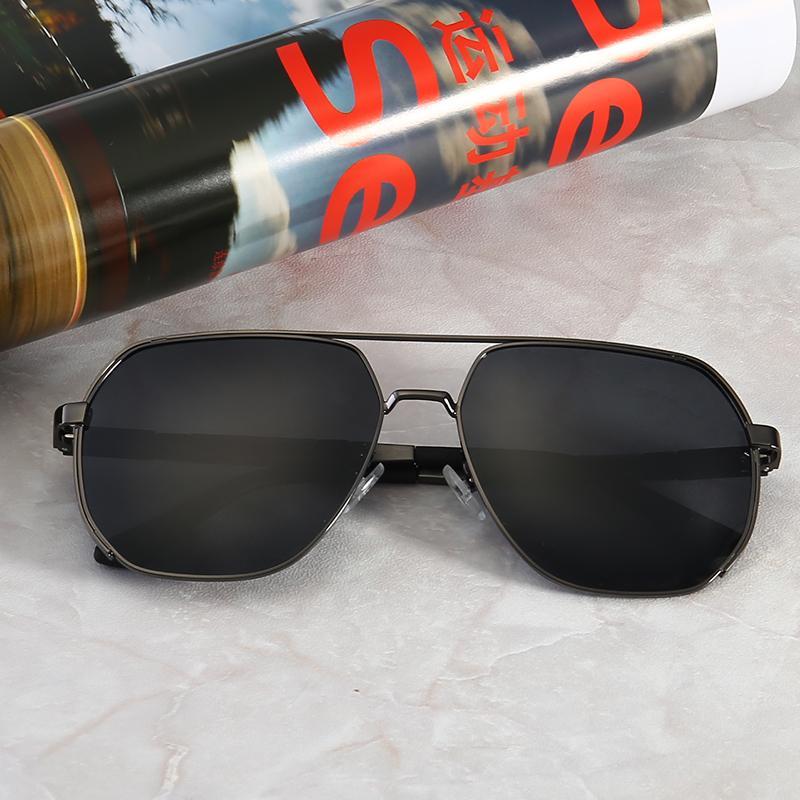 최고 품질의 유리 렌즈 여성 라운드 프레임 패션 남성과 여성 1 코팅 선글라스 UV400 브랜드 디자이너 빈티지 스포츠 색안경