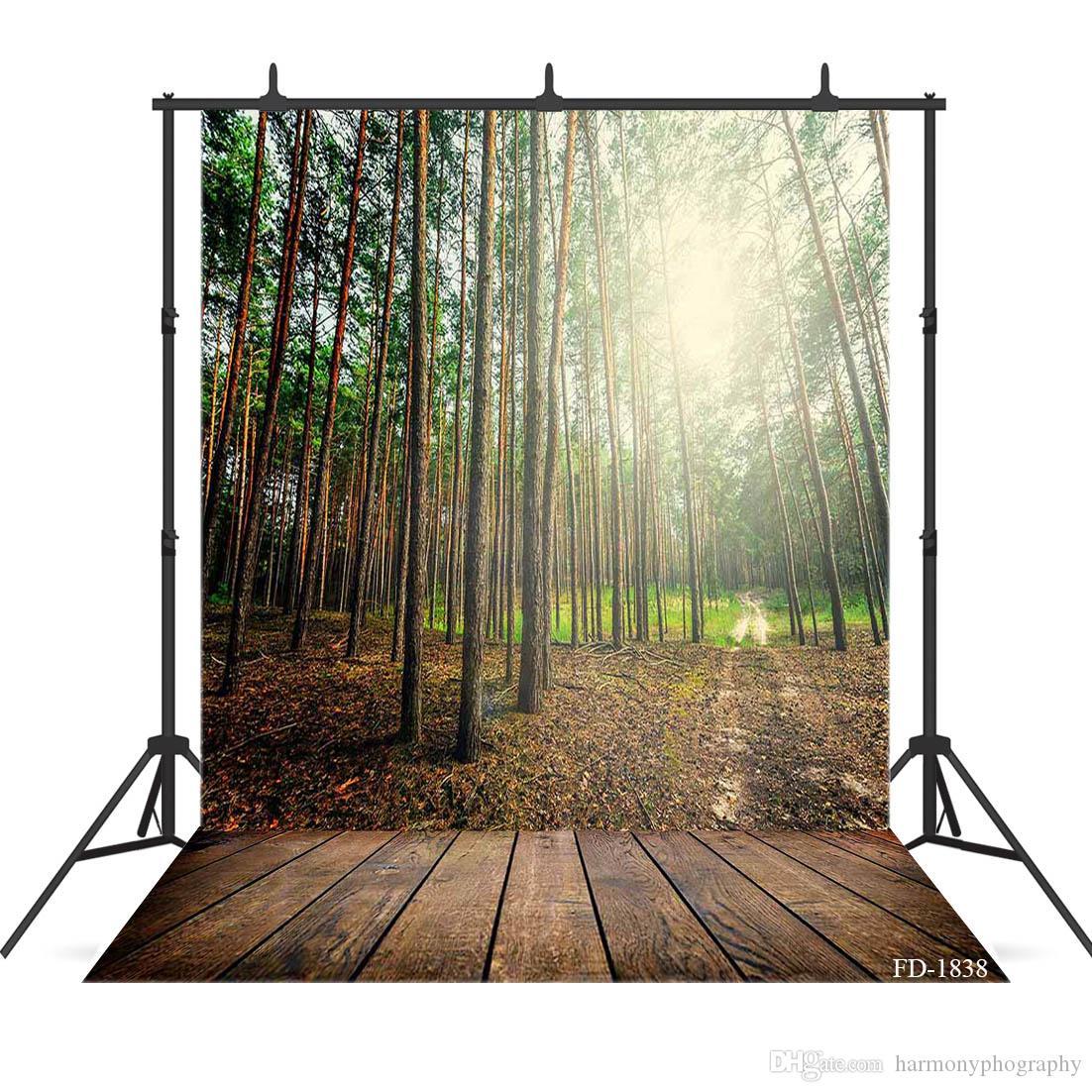 사진 촬영을 위해 햇빛 숲 photography 배경 초상화 아이 베이비 샤워 배경으로 사진 부스 소품