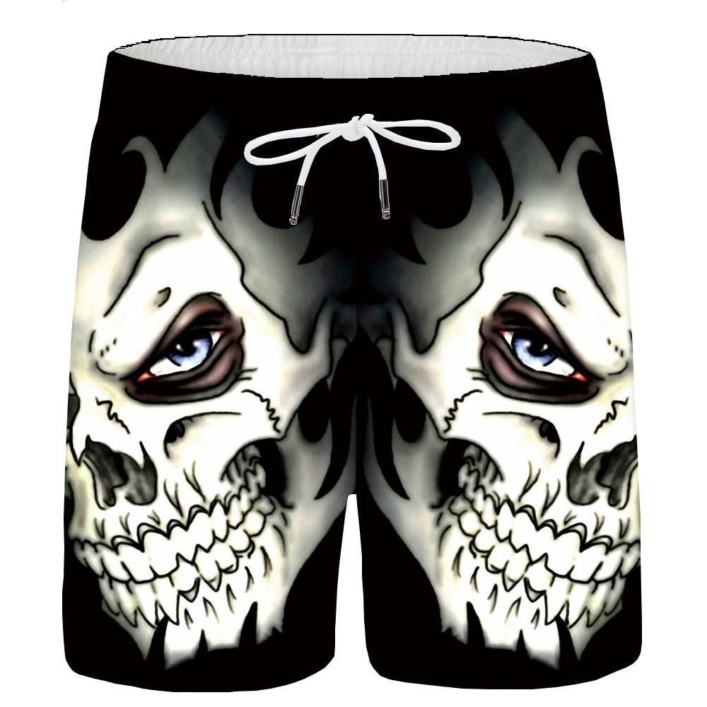 Mens Soft Hawaii Beach Hip Hop Vintage Beach Shorts Swim Trunks Board Shorts