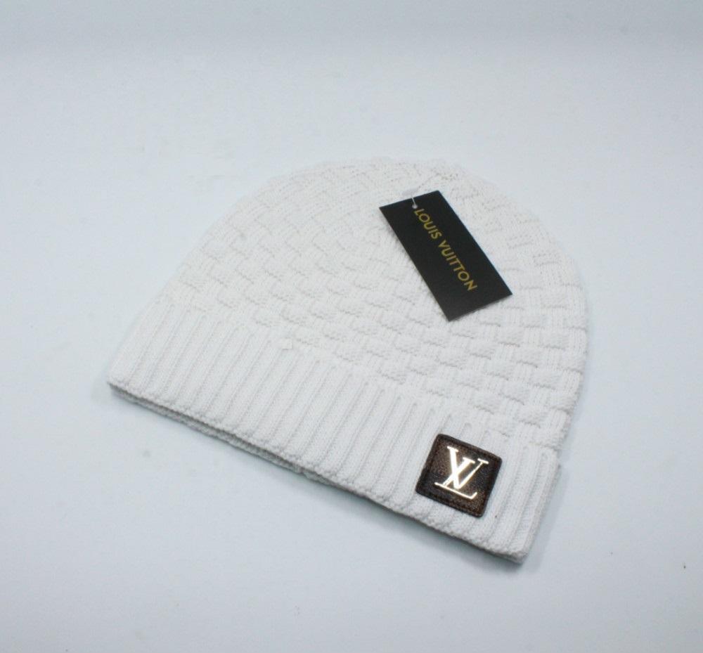 2020 nuova protezione di modo Beanie autunno Cappelli uomo invernali donne lavorato a maglia Beanie cappello di lana Uomo Knit Bonnet Beanie caldo Cap