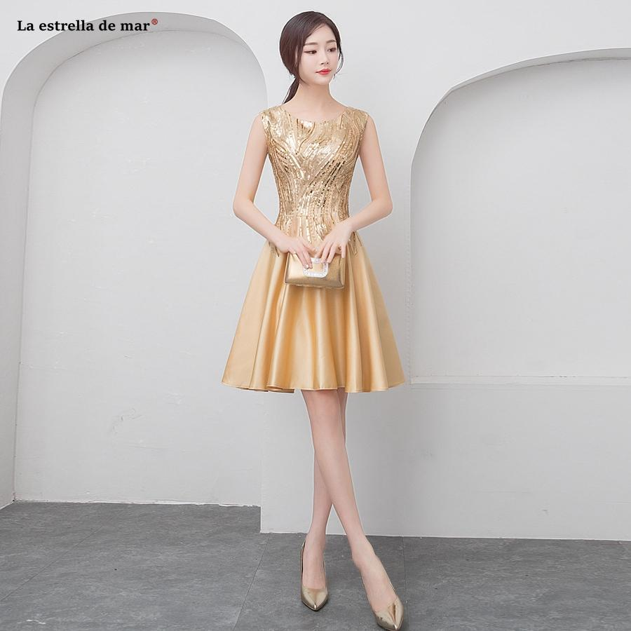 Abiti Eleganti Cerimonia On Line.Vestiti Eleganti Donna Cerimonia Sera New Satin Sequins A Line