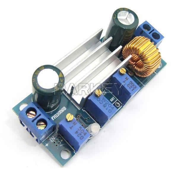 Freeshipping 100pcs LED Drive Buck Converter Solar Battery Charger 4.5-30V to 0.8-30V Car Power Buck Converter #200482