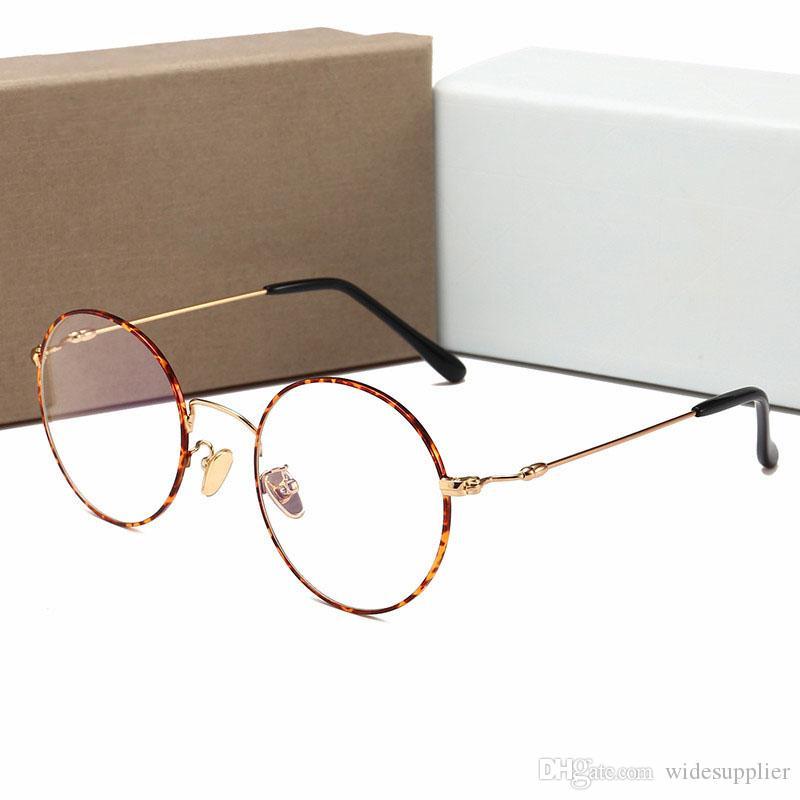 Top Quality New Korean Popular Metal Flat Glasses Personality Trend Wild Retro Flat Mirror Driving Sunglasses 4 Colors