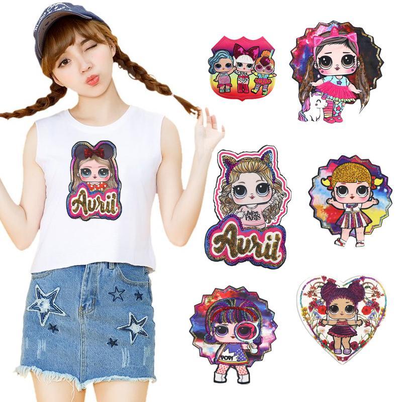 6 pezzi di moda all'ingrosso di Applique di DIY Water Solubile ricamo costume decorata Bambini vestiti colorati Stickers Accessori