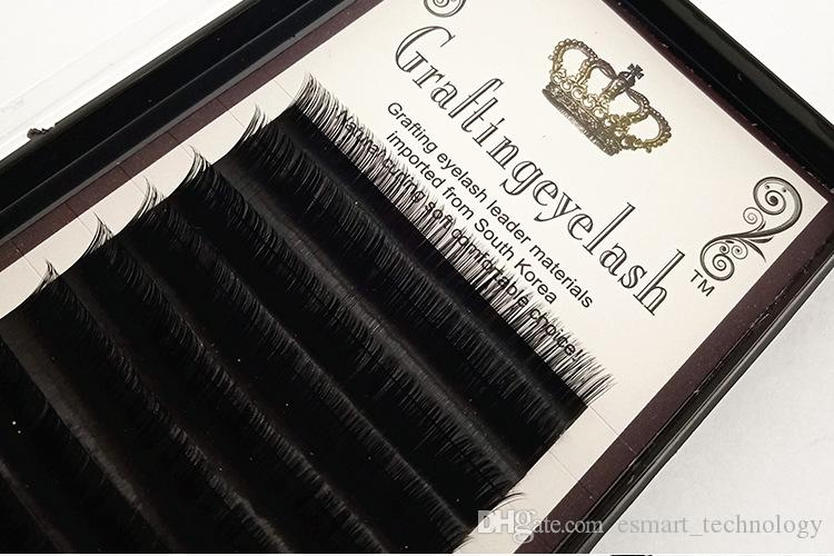 0.05mm 0.07mm 0.1mm Thickness Individual 3D Mink False Eyelashes 8mm ~ 14mm Natural Lone Eye Lasehs Kit