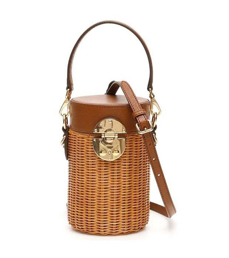 2020 New Network Fashion Shoulder Bag Rattan Bag
