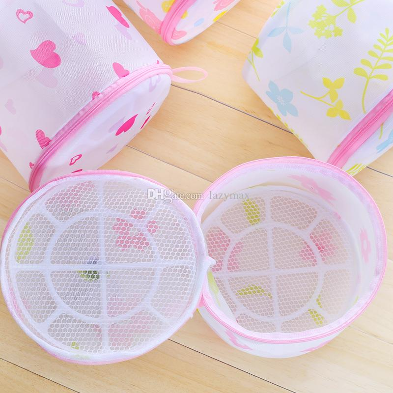 Özel Çamaşır Torbası Makine Yıkama Için 20 Tasarımlar Çamaşır Sepeti Sutyen Iç Çamaşırı Çamaşır Torbası Örgü Yıkama Kılıfı 5 Parça ePacket