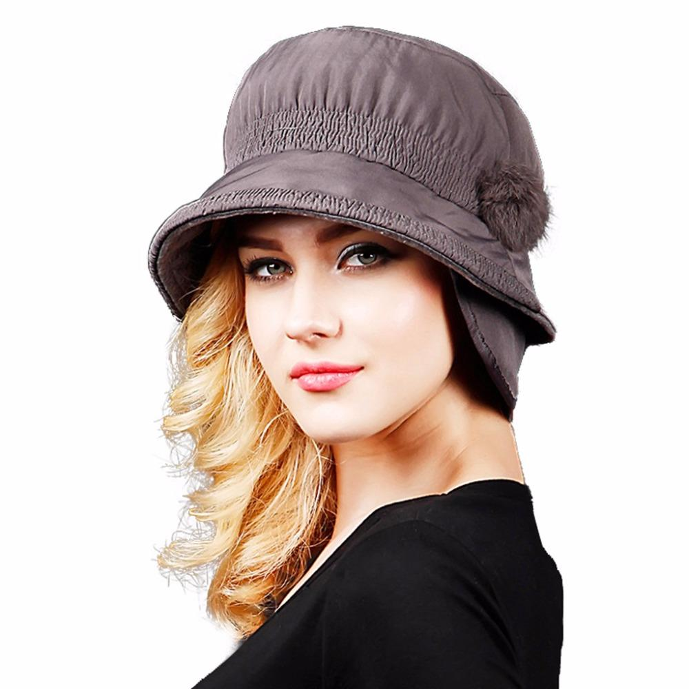 2021 Fashion Autumn Winter Womens Fedora Caps For Woman Lady Woolen Pom P  Fedora Caps Bucket England Hat With Pompom From Watcheshomie, $35.68    DHgate.Com