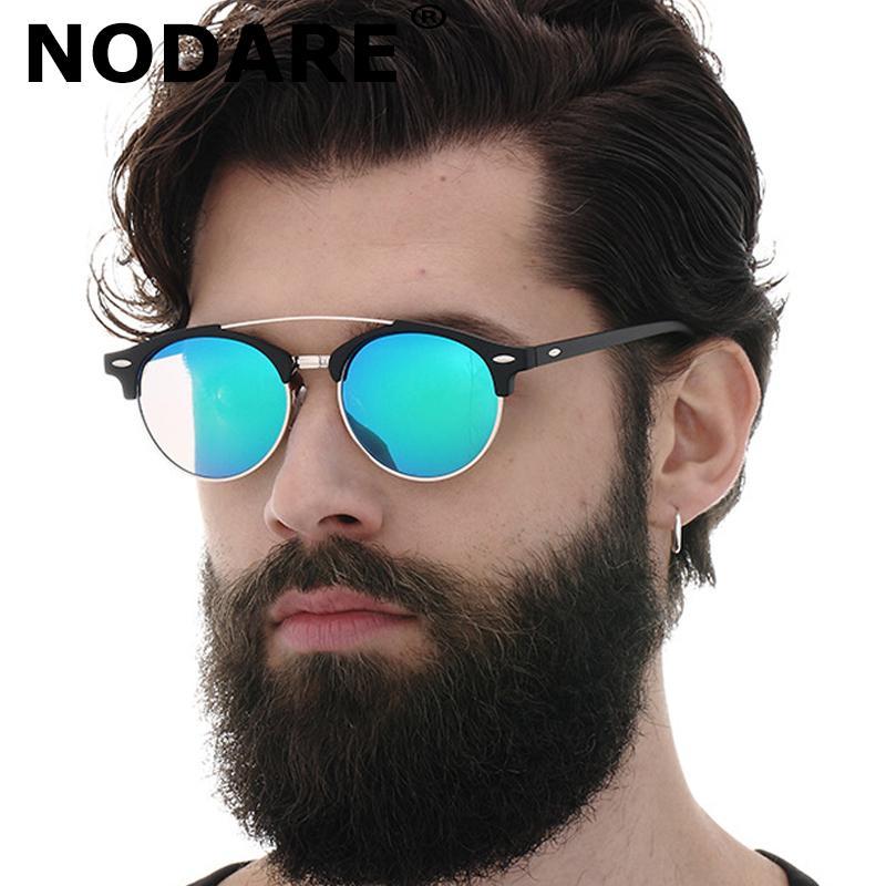 NODARE 2020 Moda Doppio ponte di stile polarizzata ray occhiali da sole donne degli uomini di disegno di marca Occhiali da sole UV400 Occhiali da sole hombre