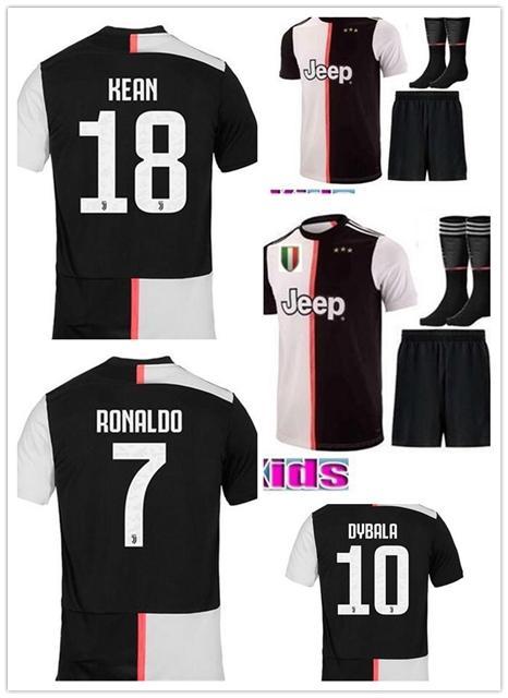 2020 19 20 New Juventus Soccer Jersey Kids 2019 20 Ronaldo Dybala