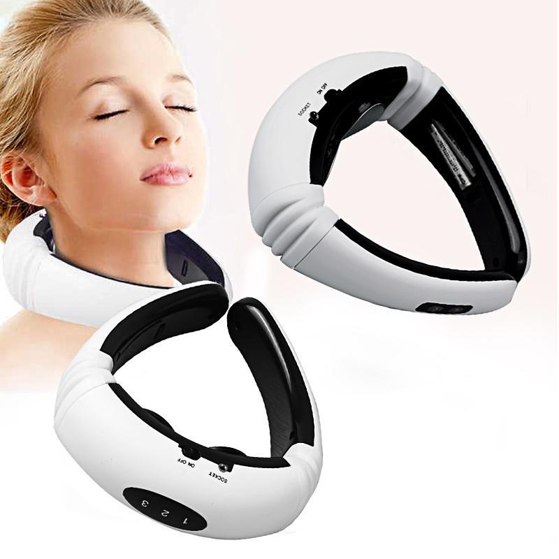 Pulso elétrico Back and Neck Massager infravermelho distante Aquecimento Ferramenta de Saúde Relaxamento Multifuncional Physiotherap
