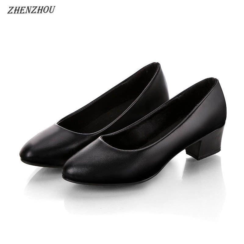 Women Pumps 2019 Formal Work Shoes, Non