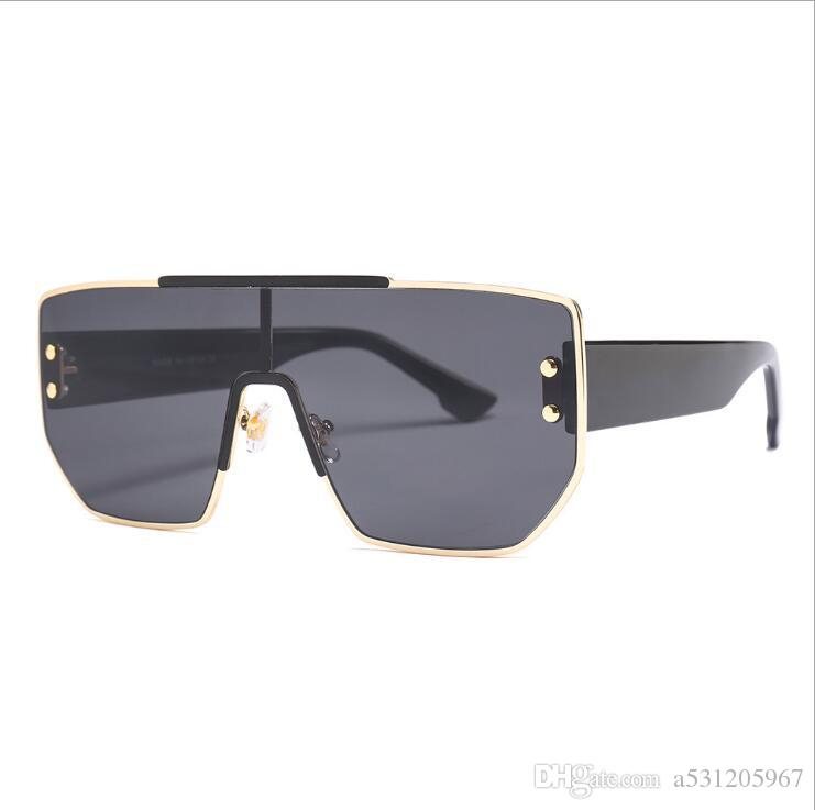 المتضخم النساء نظارات شمسية نسائية نظارات شمسية ساحة أنثى Gafas دي سول النظارات الشمسية النسائية للرجال والنساء