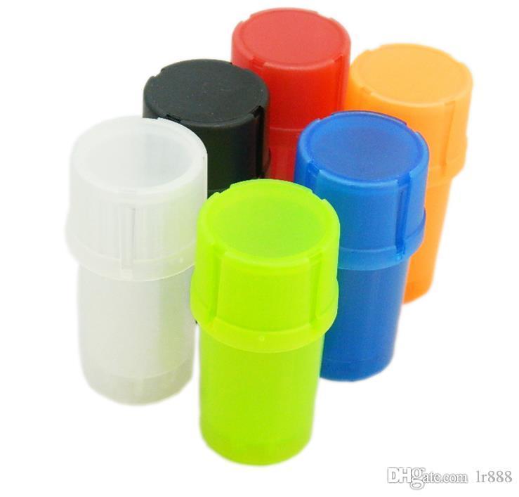 Tres capas de agua de plástico botella de 60MM de la prueba, el molino de cigarrillos, aparatos multifunción molienda, sistema que fuma