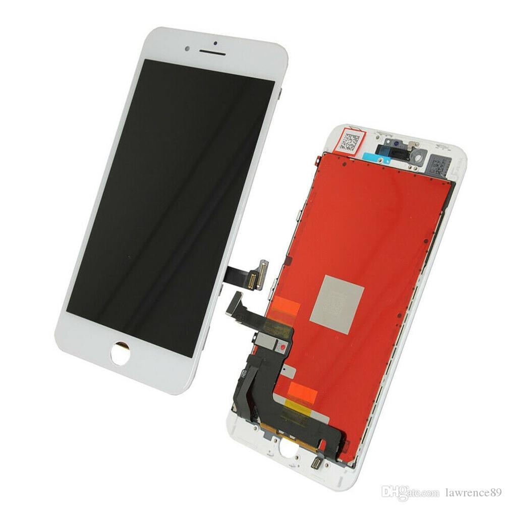 iPhone 8 Plus Resim Ölü Piksel İçin Yeni LCD Ekran Dokunmatik Ekran Sayısallaştırıcı Çerçeve Montaj Yedek Parçaları