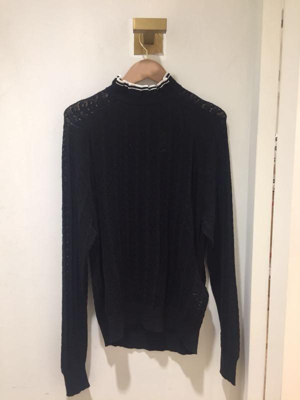 18 Princesa Vento Sweet Lace Knitting Collar Shirt Camisola Motif81089 perder dinheiro Qing