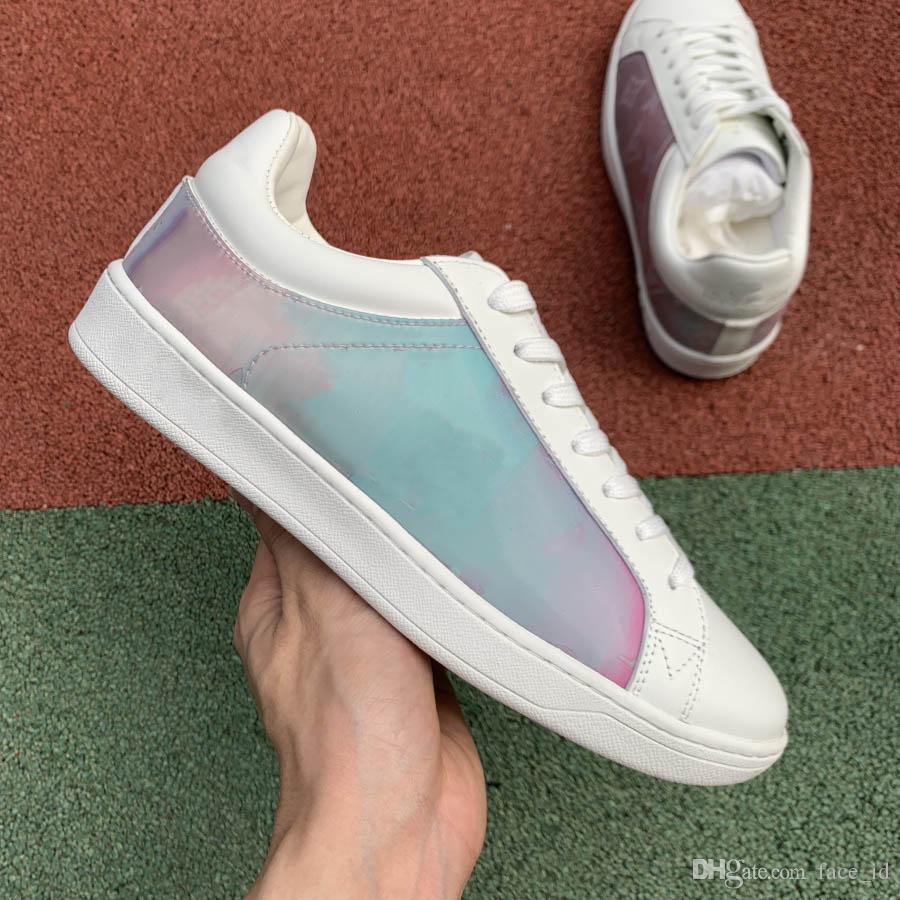 2019 homens marca de moda de luxo designer mulheres tênis para homens Zapatos sneakers nova plataforma chegada ao ar livre loafer tamanho da sapata 5-11