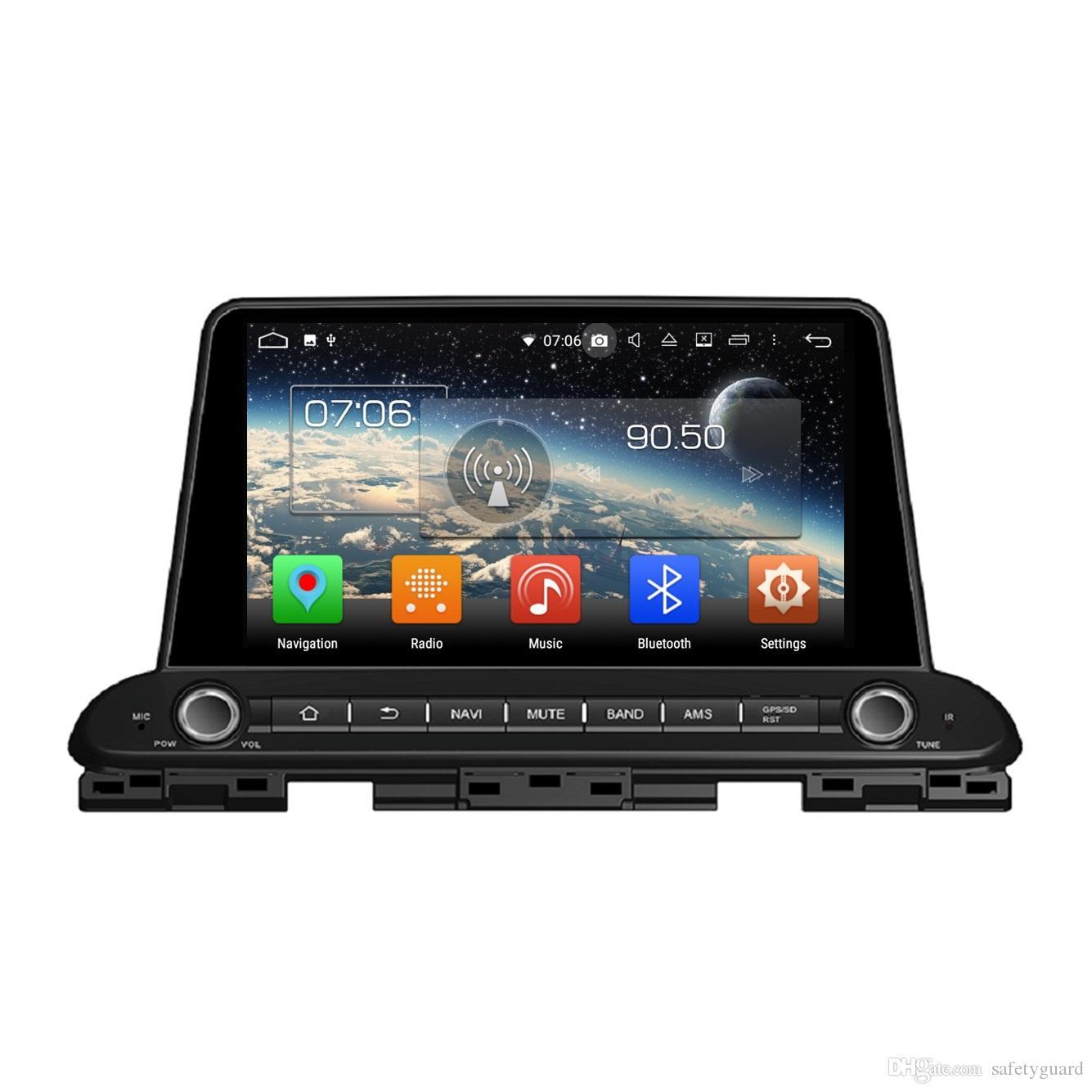 PX5 1 din 9 Android 8.0 سيارة دي في دي راديو ملاحة GPS رئيس وحدة الوسائط المتعددة لكيا سيراتو فورتي 2018 4GB RAM 32GB بلوتوث WIFI مرآة رابط