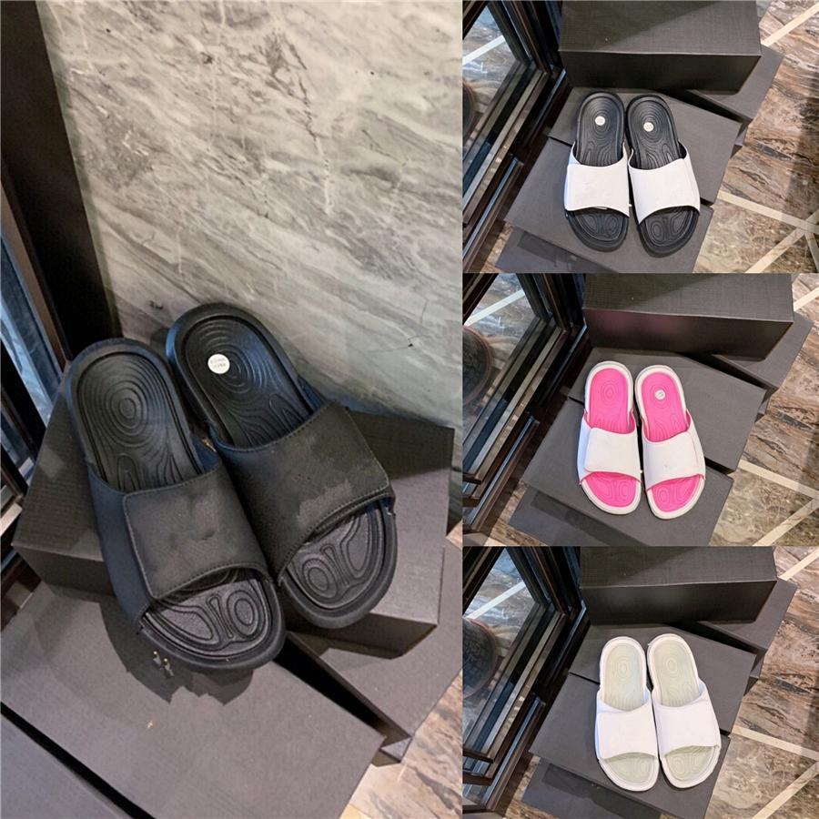 Lisunny 2020 mujeres del tacón alto zapatillas de verano Nueva microfibra del arco del Rhinestone hueco Zapatillas Botines elegante de la manera # 885