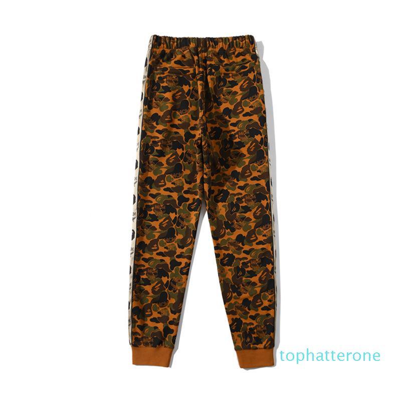 Nouvelle arrivée Automne Hiver Terry Desert Camo hommes Causel Vêtements de sport Pantalons amant Sport Pantalons Pantalons Hip Hop