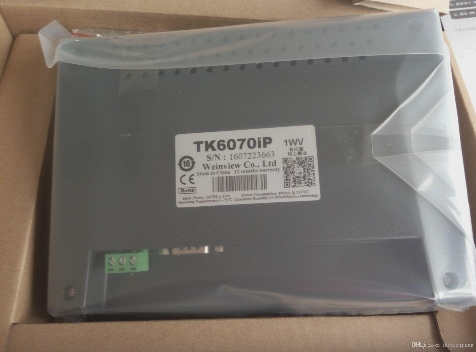 오리지널 Weinview PANEL TK6070IP TK6070iP 또는 TK6071IP TK6071iP 무료 배송