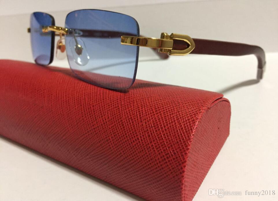 Buffalo Sunglasses Women Brand Designer 2019 Oversized Blue buffalo Horn Glasses Retro un Glasses For Women Top Sale Female Luxury Shadows