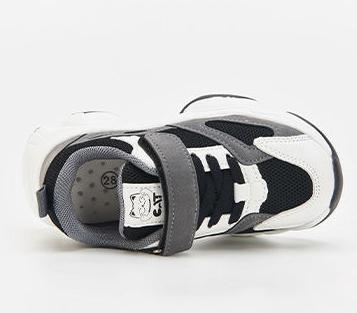 Spring 2020 children's sports shoes boys and girls flying woven running shoes children's shoes 22-26 M119579