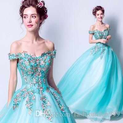 New Arrival Hot Sale Special Catwalk Summer Dinner Annual Meeting Embroidered Elegant Luxury Noble Bead Blue Exotic Banquet Show Tidal Dress