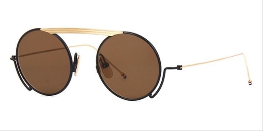 mens DE0111 nuevas gafas de sol de calidad superior Gafas de sol hombre mujer gafas de sol estilo de moda protege los ojos Gafas de sol Gafas de sol con la caja