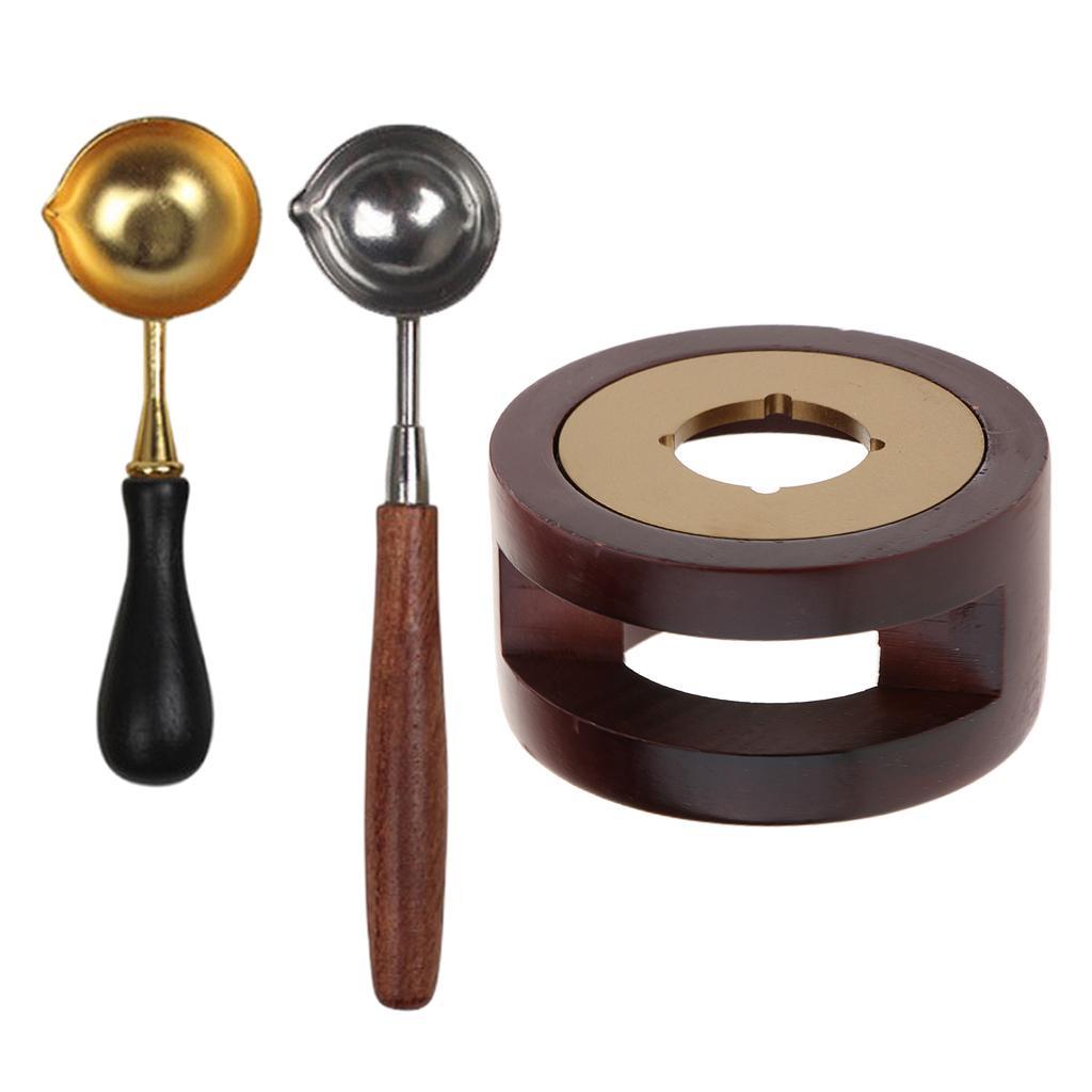 Cera forno di fusione Kit Spoon bastoni bollo Stufa Pot W / Spoon B + C