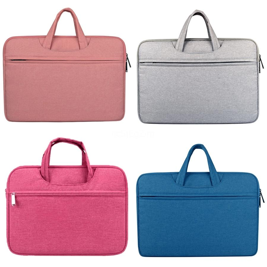 Borse Computer 13,3 14 15,6 pollici del computer portatile della cartella del sacchetto borsa per Dell Asus Lenovo Acer Macbook Huawei nuovo # 716