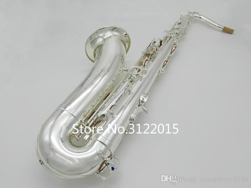 Янагисава TWO20 Бесплатная доставка тенор Марка качества Bb Tune Музыкальные инструменты посеребренной латуни Sax с футляром мундштук