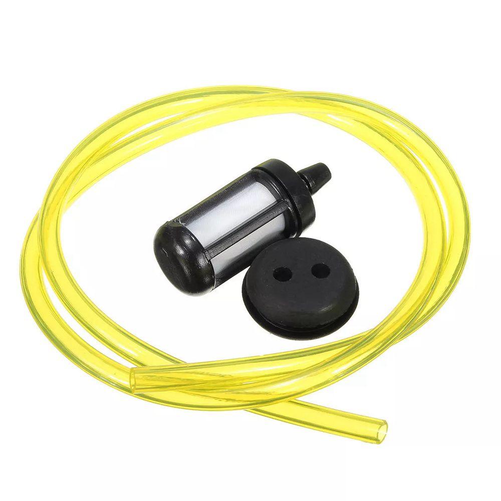 Tank Fuel Filter+Grommet+Fuel Hose Kit For Honda Stihl For Ryobi Talon Chainsaw