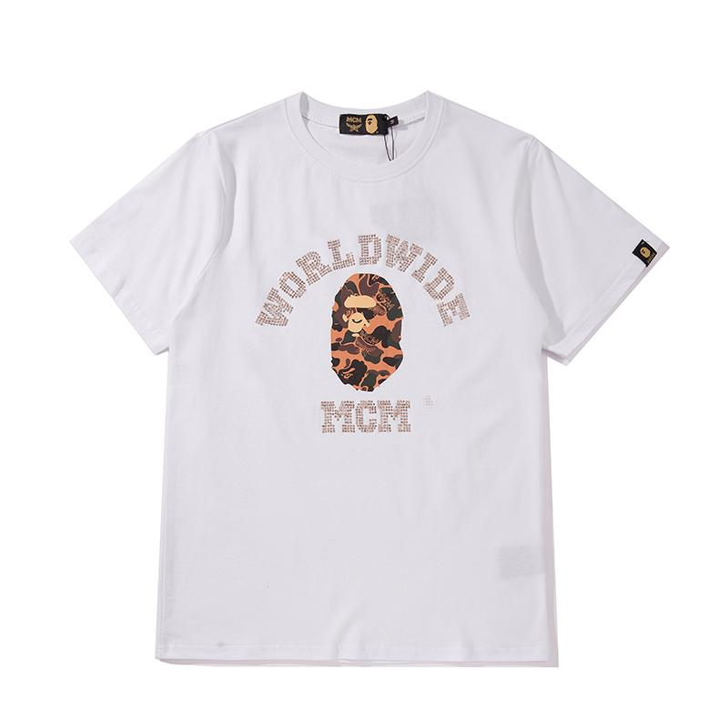 Fashion Brand Design Männer Frauen Shirts Straße Marke T-Shirt Mens-Sommer-T-Shirts Mode Top Tees Hiphop mit kurzen Ärmeln Kostenloser Versand B105511L