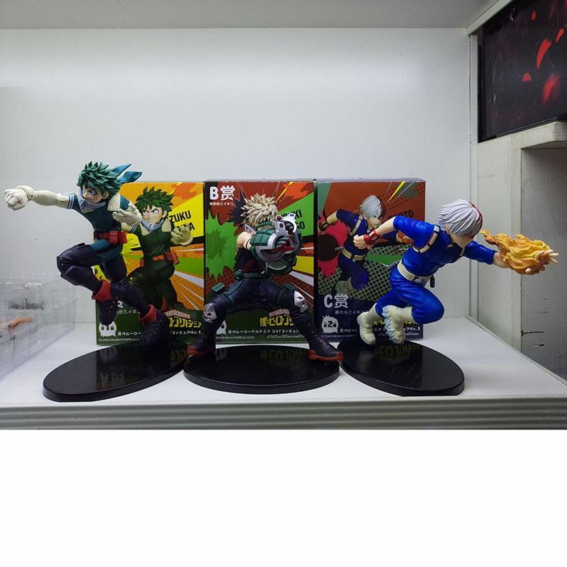 all'ingrosso Hero Academia Fighting Ver. Todoroki Shoto Action Figure Figure in scala 1/8 Bakugou Katsuki Izuku Figura in PVC Midoriya
