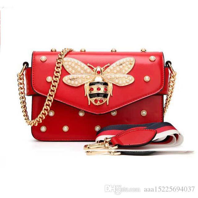2020 Mulheres Messenger Bag Little Bee sacos de mão Bandoleira Sacos Senhoras sacos de ombro Bolsas mulheres famosas marcas saco pequeno quadrado