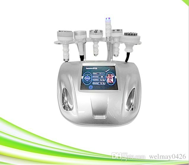 profesional 6 en 1 vacío rf piel estiramiento adelgazante cavitación vacío rf liposucción máquina