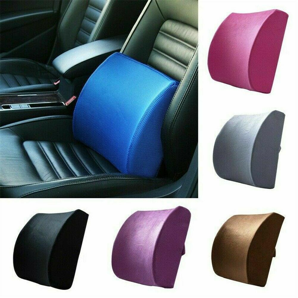 Seat Cushion For Back Pain >> New Universal Memory Foam Wedge Car Seat Chair Lumbar Support Cushion Back Pain Height Auto Office House Casual Supports Summer Car Seat Cushion