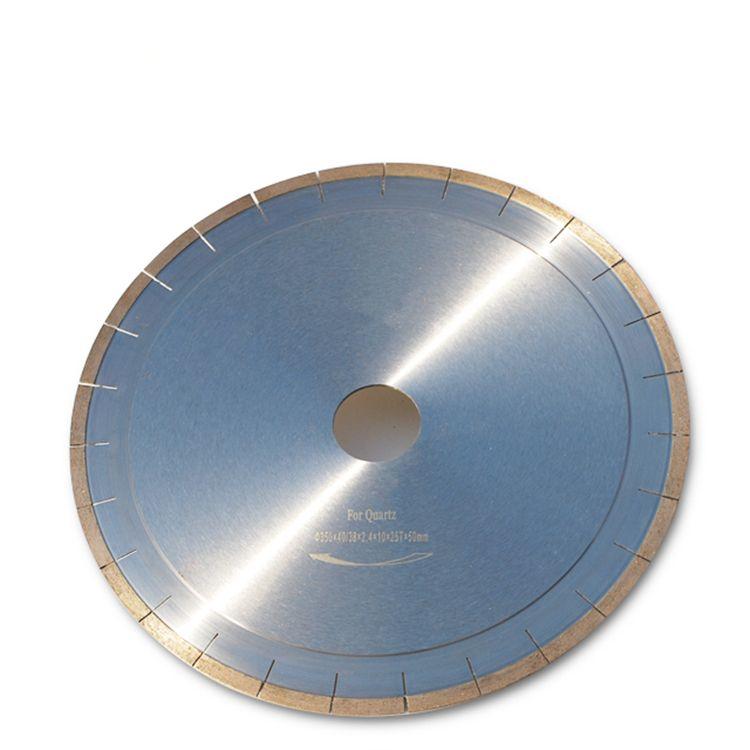 14 Inch D350mm Silent Diamond Circular Saw Blades for Quartz Diamond Cutting Disc Stone Cutting Tools for Quartzite One Piece