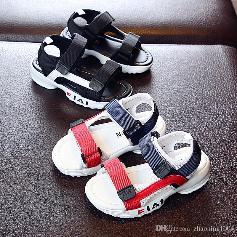 Summer Children Toddler Kids Girls Boys Summer Beach Shoes Sandals Sneakers