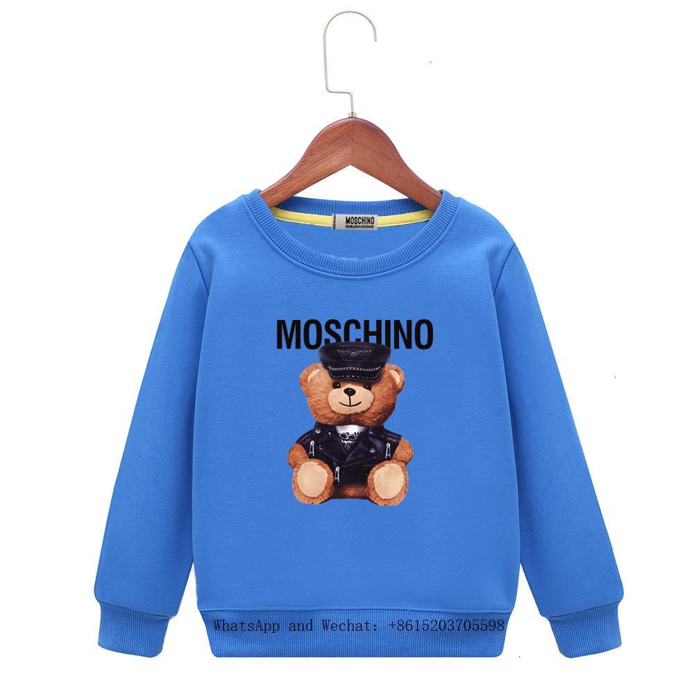 Meninos Hoodie Primavera e no Outono Crianças encantador dos desenhos animados camisola Cap Belt mangas compridas Jacket Cabeça Cores 121004