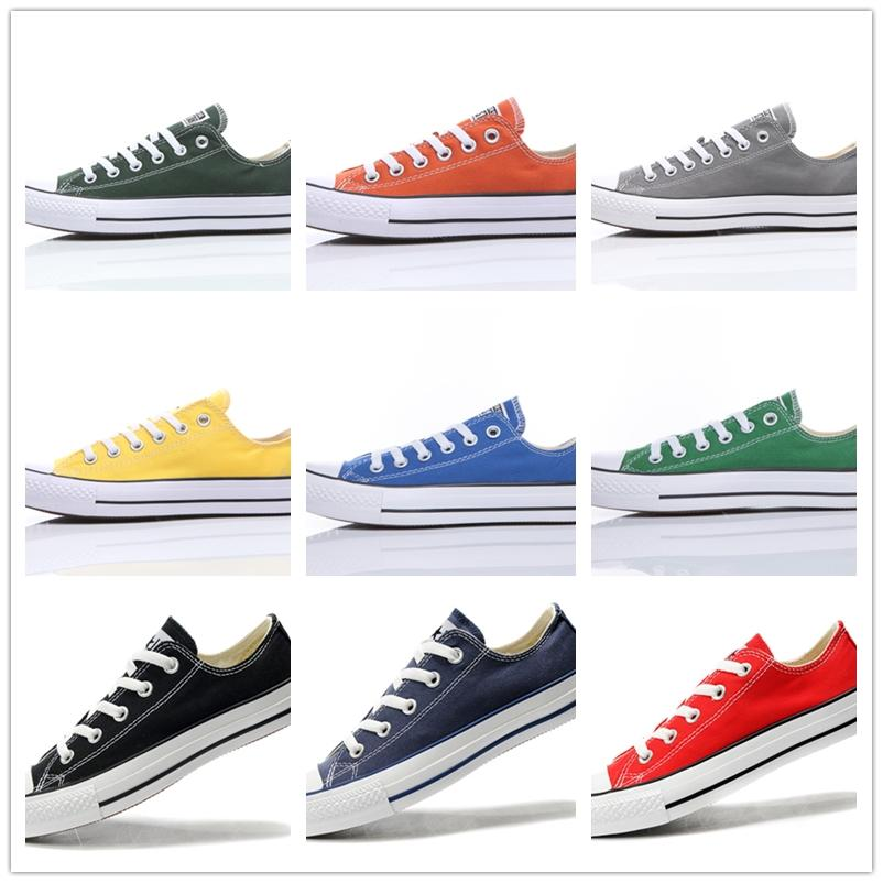 Canvas Shoes Women And Men Low Style