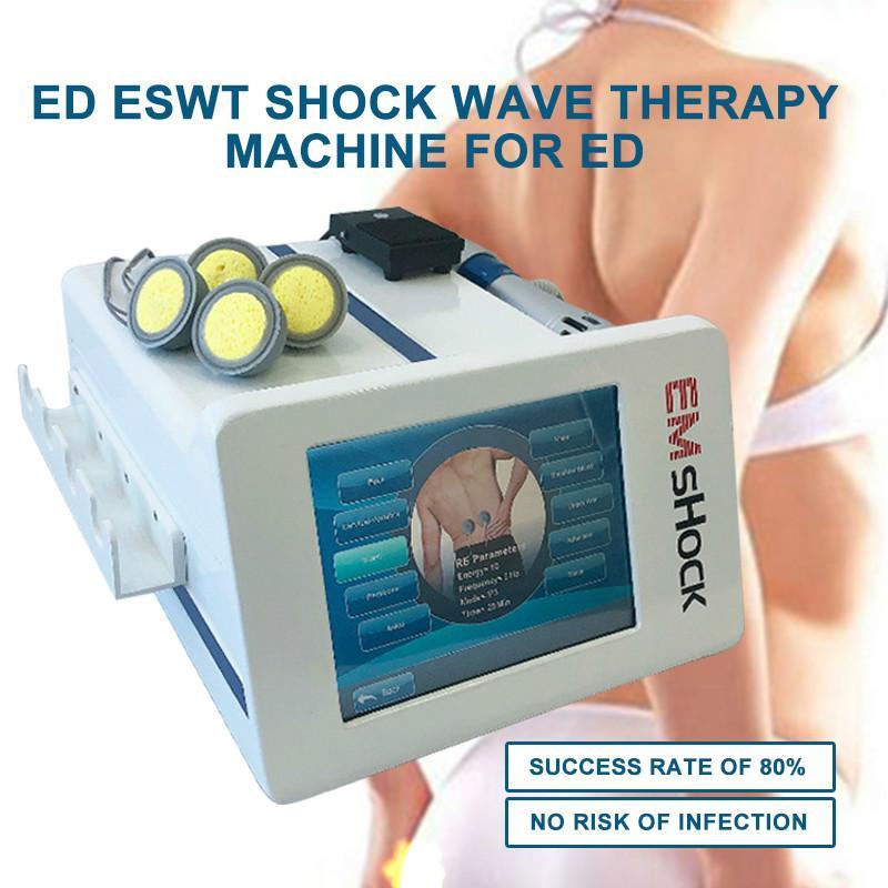 Physiothérapie électrostimulateur musculaire EMS perte de poids machine ESWT Shock Wave Therapy Machine pour perte de poids